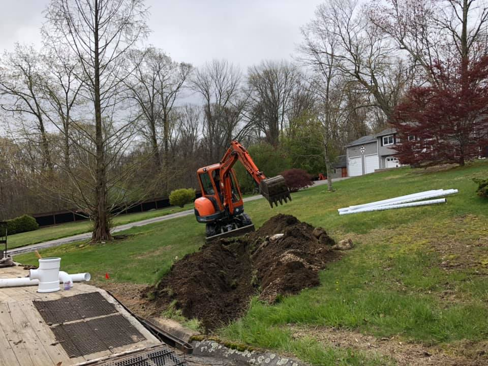 yard drainage contractors ct