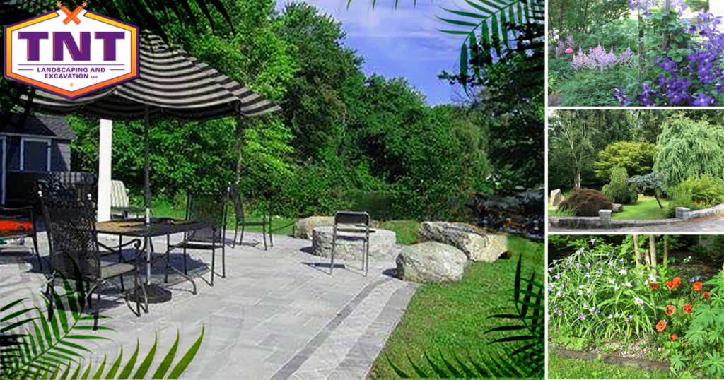 backyard patio paradise by TNT Landscaping & Excavation