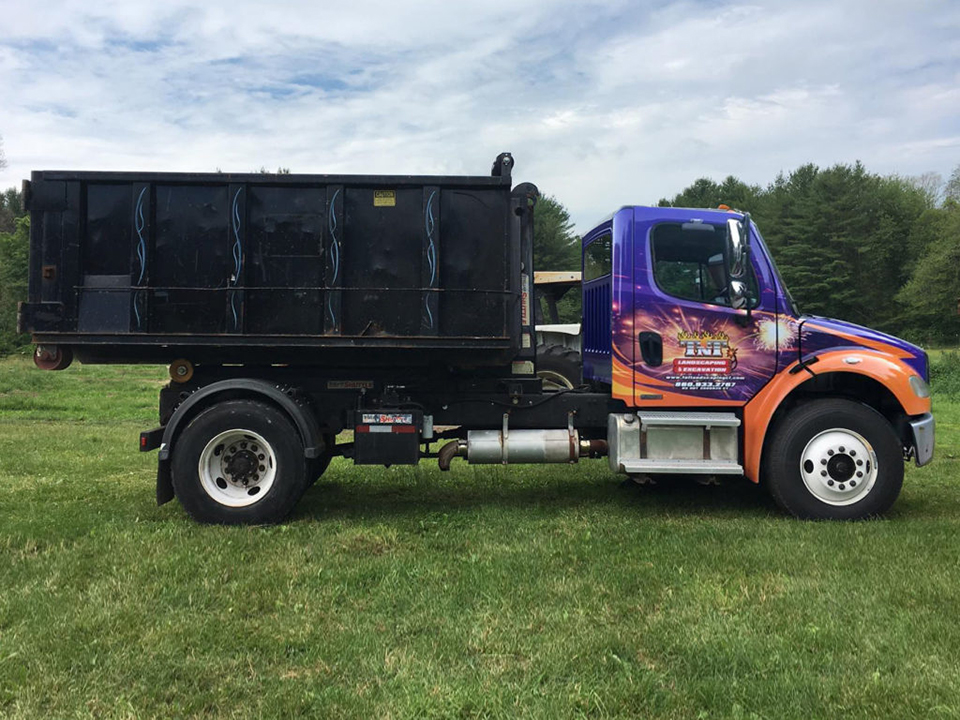 TNT offers container dumpster rental in CT