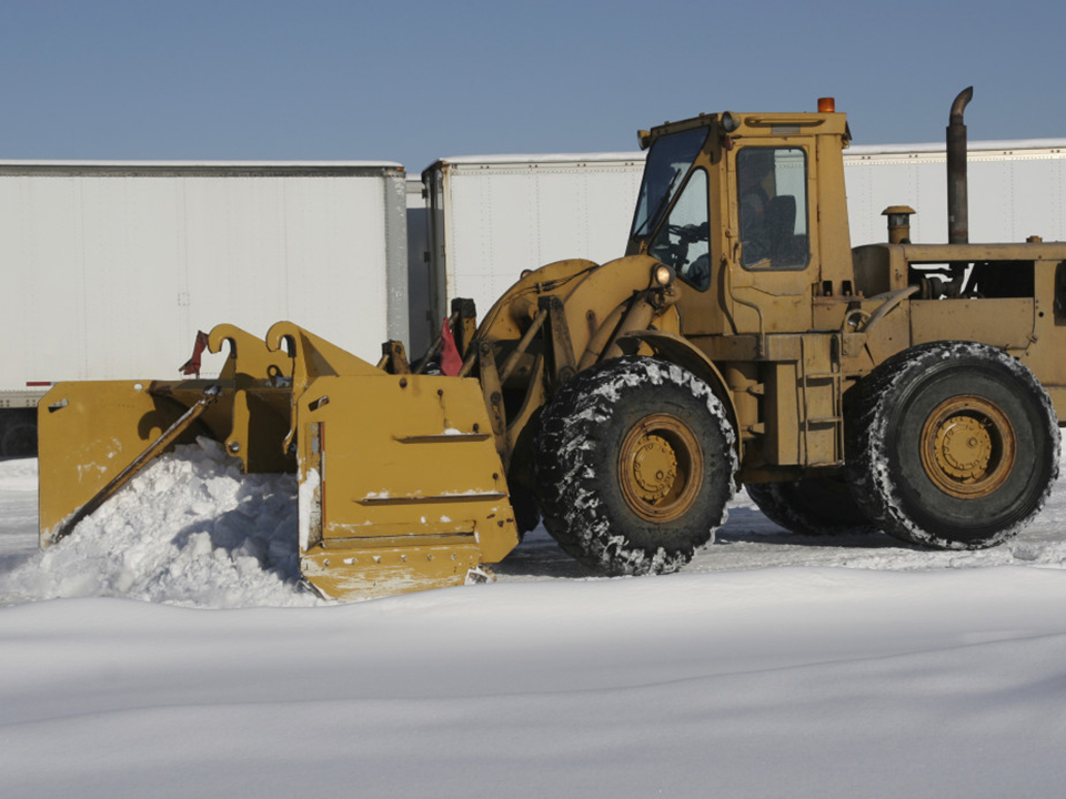 commercial snow plowing southeastern CT