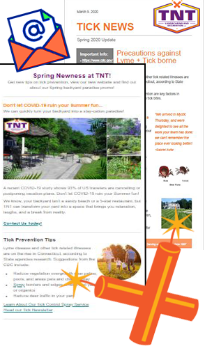 Get the newsletter from TNT Landscaping & Excavation